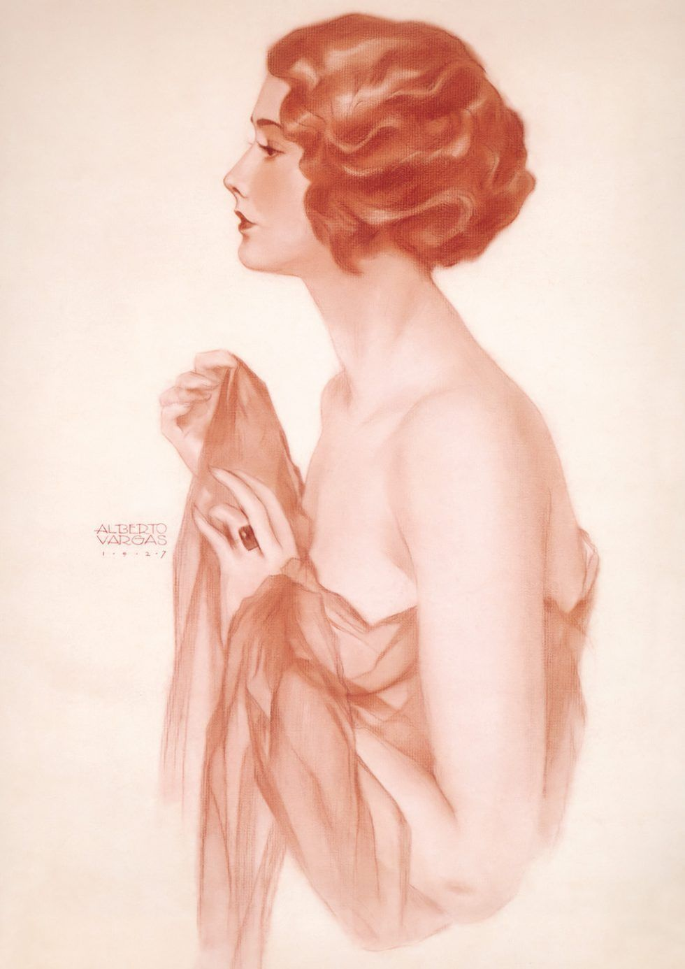 Anna Mae Clift. Art of Alberto Vargas
