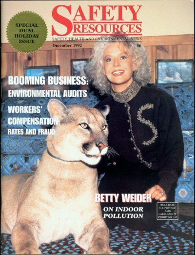 SAFETY RESOURCES — Betty Weider — Mountain Lion-December 1992