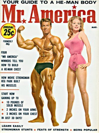 MR. AMERICA — Larry Scott — Betty Weider-March 1964