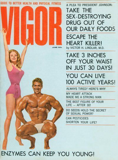 VIGOR — Betty Weider — Reg Lewis — June 1964