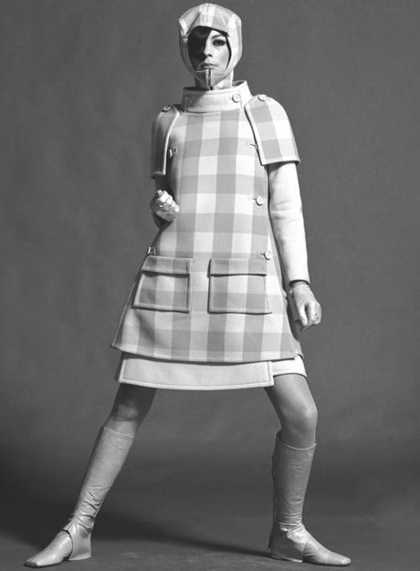 André Courrèges, Ensemble, photographed by John French, 1960s