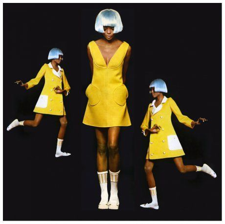 Diana Ross in André Courrèges Dress, 1966
